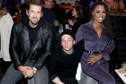 (L-R) Steve Howey, Jeremy Allen White, and Shanola Hampton attend a party hosted by SHOWTIME®, Prime Video Channels, and IMDb to celebrate SHAMELESS at Acura Festival Village on January 26, 2019 in Park City, Utah.
