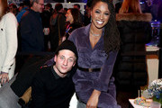 Jeremy Allen White and Shanola Hampton attend a party hosted by SHOWTIME®, Prime Video Channels, and IMDb to celebrate SHAMELESS at Acura Festival Village on January 26, 2019 in Park City, Utah.