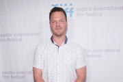 Actor Jim Parrack arrives for the world premiere of the film 'Trouble' at Egyptian Theater, Seattle on June 7, 2017 in Seattle, Washington.