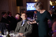 Tony Adams chats to Sybil Ruscoe during the SJA British Sports Journalism Awards Ceremony at Grand Connaught Rooms on March 24, 2014 in London, England.  (Photo by Bethany Clarke/Getty Images