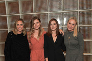 (L-R) Keltie Knight, Jac Vanek, Zoey Deutch and Becca Tobin attend SOREL x LadyGang Fall Podcast + Party at NeueHouse Los Angeles on October 18, 2018 in Hollywood, California.