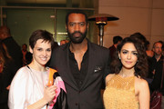 """(L-R) Actors Sara Serraiocco, Nicholas Pinnock and Nazanin Boniadi attend the STARZ """"Counterpart"""" & """"Howards End"""" FYC Event at LACMA on May 23, 2018 in Los Angeles, California."""