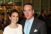 """Actors Philippa Coulthard (L) and Matthew Macfadyen attend the STARZ """"Counterpart"""" & """"Howards End"""" FYC Event at LACMA on May 23, 2018 in Los Angeles, California."""