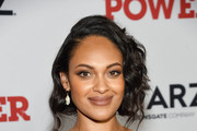 """Cynthia Addai-Robinson at STARZ Madison Square Garden """"Power"""" Season 6 Red Carpet Premiere, Concert, and Party on August 20, 2019 in New York City."""