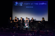 Lee Latchford-Evas, Faye Tozer, Lisa Scott-Lee, Claire Richards and Ian 'H' Watkins take part in a Q&A session at the DVD launch of 'Steps Party On The Dancefloor' at the Everyman Cinema on June 4, 2018 in London, England.