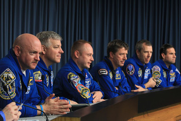 Greg Chamitoff STS-134 Astronauts Speak To Media About Upcoming Shuttle Launch