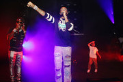 Offset and Quavo of Migos perform at SUMMERSFEST 2019 at The Novo by Microsoft on August 12, 2019 in Los Angeles, California.