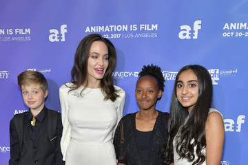 Saara Chaudry Premiere of Gkids' 'The Breadwinner' - Arrivals