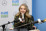 "Sabrina Carpenter visits ""The Elvis Duran Z100 Morning Show"" at Z100 Studio on March 12, 2019 in New York City."