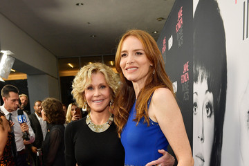 Saffron Burrows Premiere Of HBO's 'Jane Fonda In Five Acts' - Red Carpet
