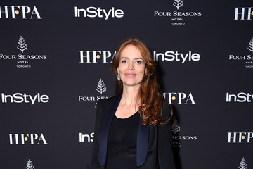 Saffron Burrows The Hollywood Foreign Press Association And InStyle Party At 2018 Toronto International Film Festival - Arrivals