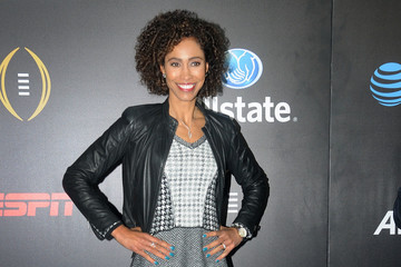 Sage Steele Allstate Party At The Playoff