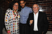 (L-R) New York Fashion Week founder Fern Mallis, designer Charles Harbison and former CFDA president Stan Herman attend the Saint Louis Fashion Fund Emerging Designer Competition at Saint Louis Union Station on October 15, 2014 in St Louis, Missouri.