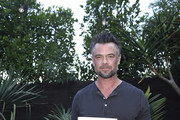 "Josh Duhamel attends Sakara Life + Rothy's Celebrate ""Eat Clean Play Dirty"" Cookbook Launch on April 16, 2019 in Beverly Hills, California."
