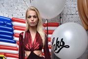 Daphne Groeneveld attends as Saks celebrates AdR Book: Beyond Fashion By Anna Dello Russo with a private dinner at WAYAN on September 10, 2018 in New York City.