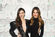Victoria Justice and Madison Guest attend as Saks celebrates new main floor with Lupita Nyong'o, Carine Roitfeld and Musical performance by Halsey on February 7, 2019 at Saks Fifth Avenue in New York City.