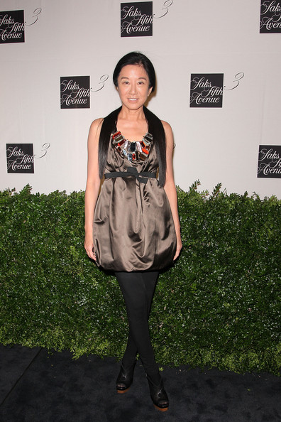 Designer Vera Wang attends the unveiling celebration for the new third floor at Saks Fifth Avenue on September 9, 2009 in New York City.