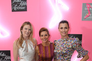 """(L-R) Amanda Benchley, Stephanie Ruhle and Bridget Moynahan attend """"Our Shoes, Our Selves"""" By Bridget Moynahan book launch hosted by Saks Fifth Avenue on April 10, 2019 at Saks Fifth Avenue in New York City."""