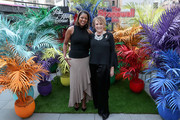 Lori Stokes and Lorna Luft attend Saks Fifth Avenue And The Stonewall Inn Gives Back Initiative Celebration With Musical Performance By Kesha on June 04, 2019 in New York City.