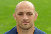 Aston Croall of Sale Sharks poses for a portrait at Salford City Stadium on August 21, 2013 in Salford, England.