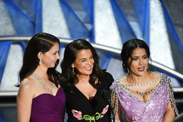 With Salma hayek ashley judd are