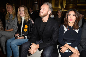 Salma Hayek Front Row at Stella McCartney
