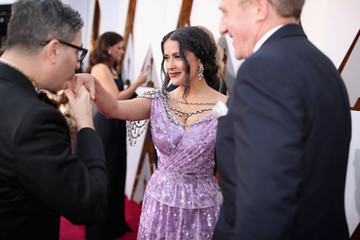 Salma Hayek 90th Annual Academy Awards - Red Carpet
