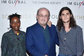 Salman Rushdie Miramax, Roadside Attractions and IM Global With the Cinema Society Host a Screening of 'Southside With You' - Arrivals