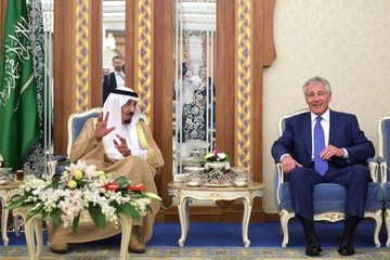 Salman bin Abdul-Aziz Al Saud Chuck Hagel Travels to the Middle East