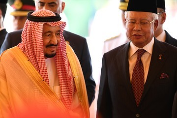 Salman bin Abdulaziz Saudi King Salman bin Abdulaziz Departs on Official Visit to Malaysia