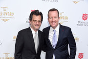 Ben Mankiewicz (L) and Andrew Jameson attend the Beverly Wilshire Four Seasons Hotel on June 19, 2019 in Beverly Hills, California.  (Photo by Gregg DeGuire/Getty Images for the Salvation Army)