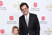 Josie Mankiewicz (L) and Ben Mankiewicz (R) attend the Beverly Wilshire Four Seasons Hotel on June 19, 2019 in Beverly Hills, California.  (Photo by Gregg DeGuire/Getty Images for the Salvation Army)