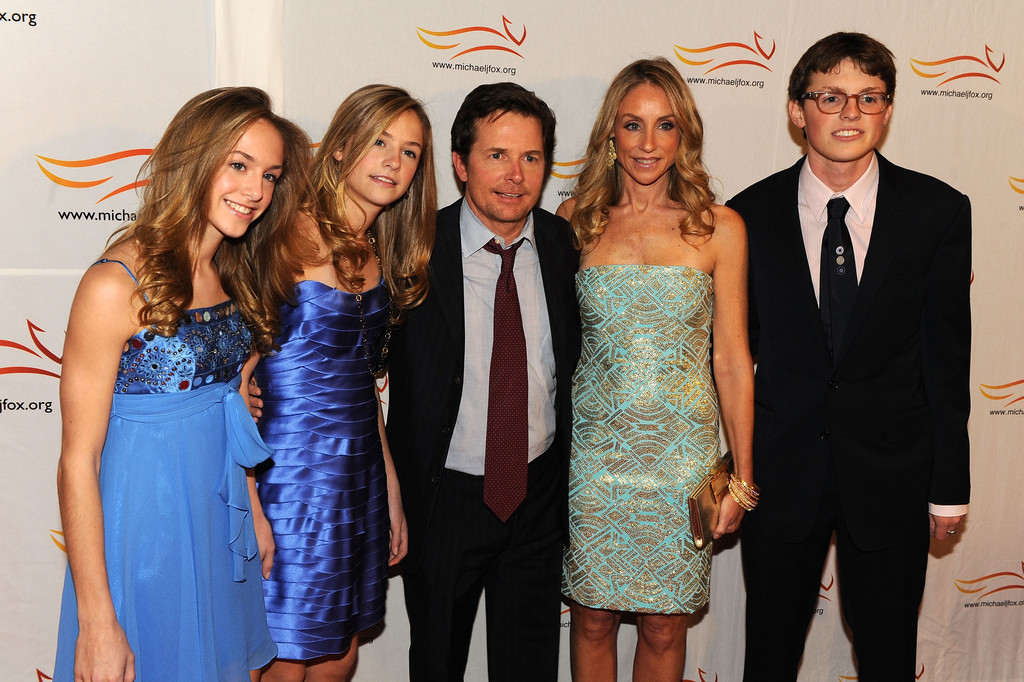 Tracy pollan actress attends a funny thing happened on for Michael j fox and tracy pollan love story