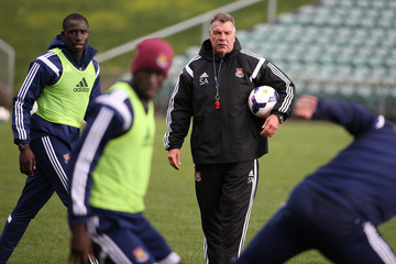 Sam Allardyce West Ham United Training Session