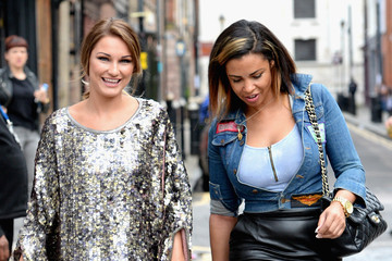 Sam Faiers Graduate Fashion Week Sponsored by George