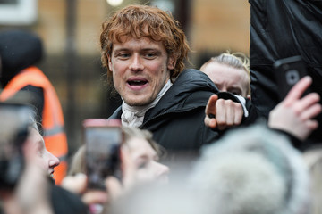 Sam Heughan Filming Of Netflix Series 'Outlander' Takes Place In Glasgow