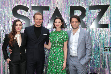 Sam Heughan Sophie Skelton Starz FYC 2019 — Where Creativity, Culture, And Conversations Collide