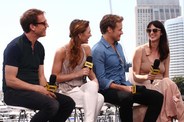 Sam Heughan Sophie Skelton #IMDboat at San Diego Comic-Con 2017: Day Two