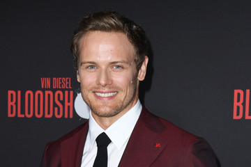 "Sam Heughan Premiere Of Sony Pictures' ""Bloodshot"" - Arrivals"