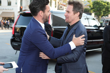 Sam Rockwell Premiere Of Warner Bros. Pictures And New Line Cinema's 'Tag' Red Carpet
