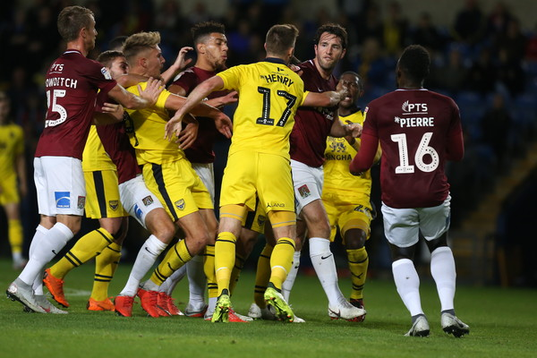 Oxford United v Northampton Town - Checkatrade Trophy
