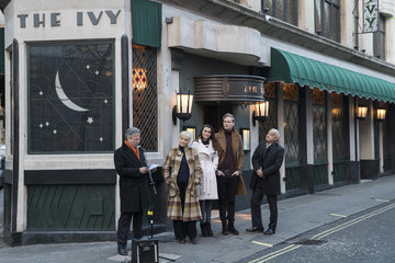 Samantha Barks 100 Years Of The Ivy Celebrated by Unveiling Of Green Plaque - Photocall