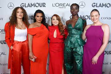 Samantha Barry Yvonne Simone 2019 Glamour Women Of The Year Awards - Arrivals And Cocktail