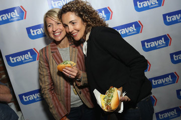 Samantha Brown Top Dog - A NY Hot Dog Competition Hosted by Andrew Zimmern
