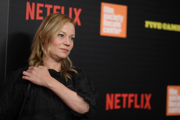 Samantha Mathis Various Celebrities Attend 'Five Came Back' World Premiere