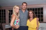 Actress Molly Sims, Scott Stuber and Hamptons Magazine Editor-in-Chief Samantha Yanks attend the Samantha Yanks and Molly Sims Reception to Celebrate Jimmy Choo at c/o The Maidstone on August 31, 2017 in East Hampton, New York.