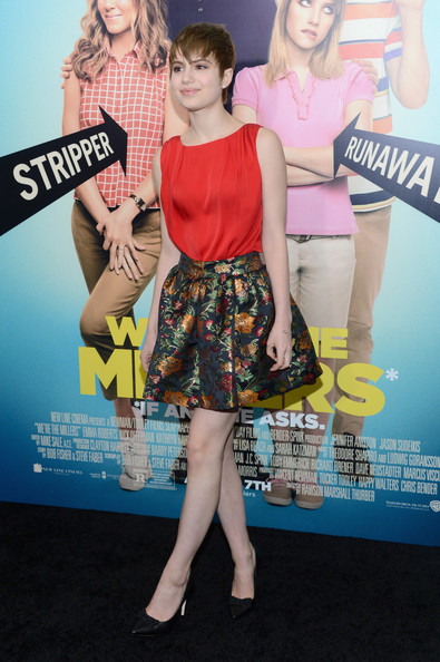 Sami Gayle - 'We're The Millers' New York Premiere - Red Carpet