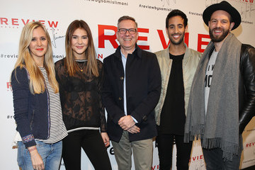 Sami Slimani Stefanie Giesinger Launch Party - Preview by Sami Slimani Collection