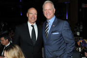Mark Messier and Boomer Esiason attend the Samsung Charity Gala 2018 at The Manhattan Center on September 27, 2018 in New York City.