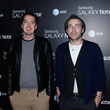 """Marcus Wainright Samsung And AT&T """"Fashion Take Note Studio"""" Hosted By rag & bone Featuring Band Of Horses - Red Carpet"""